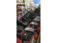 Einhell petrol lawn mowers massive selection from £110 each in stock now