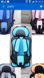 Car seat booster brand new 6mth-4yrs approx uk safety standard portable OFFERS CONSIDERED £14.99