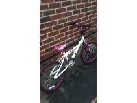 Girls 20 inch BMX bike