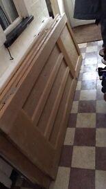 1930s orginal wood doors