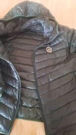 Men's XXL FORTY khaki ultra light down jacket