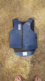 Rodney powell horse riding body protector size 3