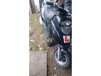 Scooter / Bike 125cc petrol 2009 - non runner - needs Starter motor motorcycle