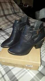Brand New Ladies Ankle Boots.
