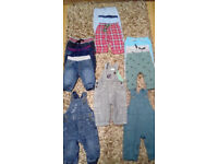 Baby boy clothes, 45 items