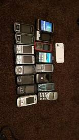 Phone job lot