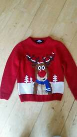 Christmas jumper & long sleeve t-shirts
