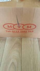 Mega van mats 10m x 2m super stretch carpet - Dark grey