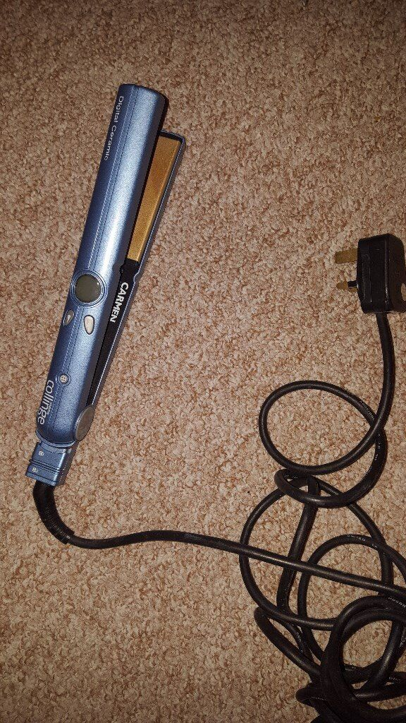 Working andrew collinge carmen hair straighteners and free GHDs broken - possibly just needs a fuse