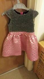 Ladybird dress 12-18m