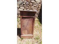 Vintage Retro French Bedside Table Cabinet - Chest Of Drawers Art Deco (11)