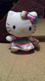 Ty beanie toy HELLO KITTY....Brand new with tags still on.