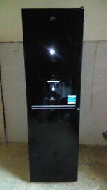 BEKO black with water dispenser fridge freezer new ex display