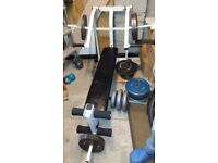 Chest press weight bench (open to offers)