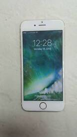 Apple iPhone 6 s unlock to any network excellent condition