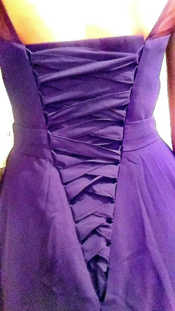 Chiffon Floor Length Bridesmaid Dresses X4 | in Whiteinch, Glasgow ...