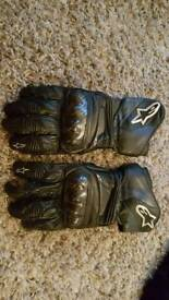 Alpinestars Motorcycle gloves bargain
