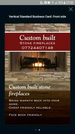 Custom built fire places