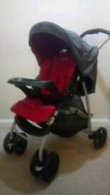 Graco travel system pram and car seat