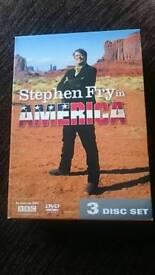 Stephen Fry In America 3x DVD