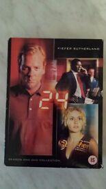 24 Season 1 DVD