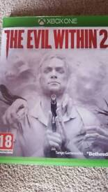 Xbox One Game-The Evil Within 2