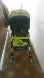 Herqules pram with cot bed and stand
