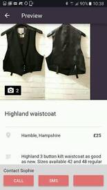 Prince Charlie waistcoat