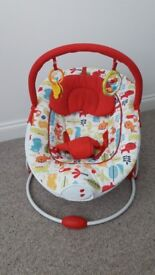 Red Kite Baby Bouncer - Excellent condition