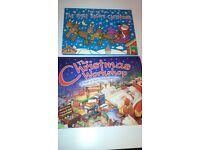 2 Children's hardback Christmas pop up children's books