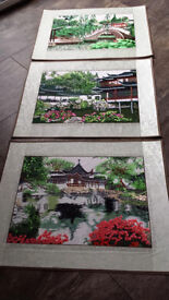 5x NEW Chinese wall hangings picture scrolls