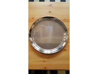 7 Stainless Steel Serving Trays