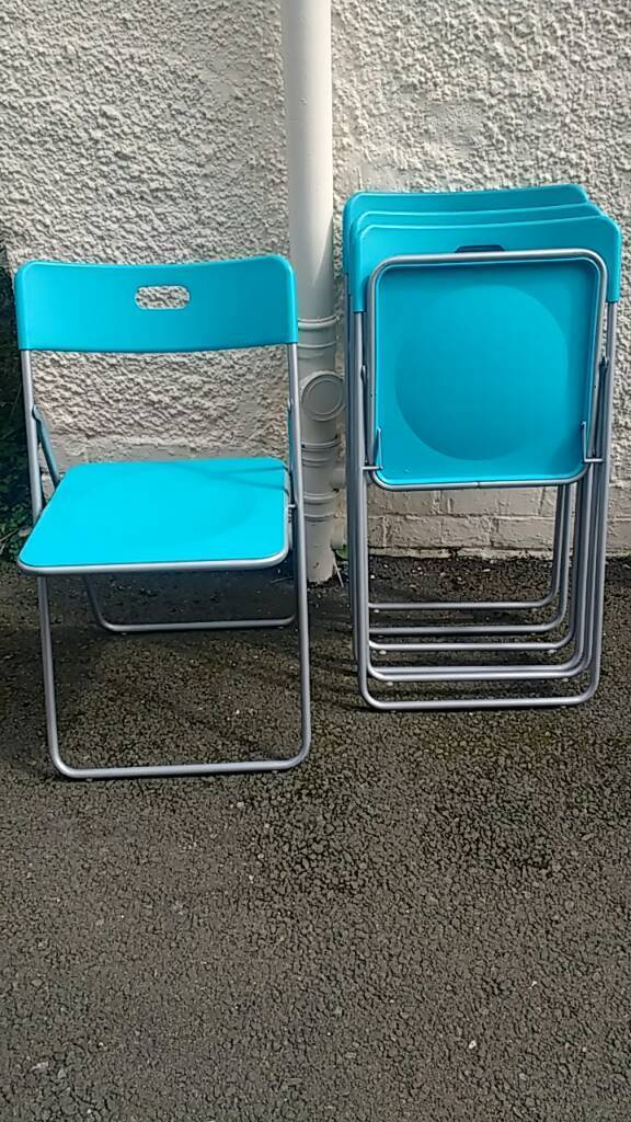 Wondrous Ikea Folding Chairs In Tranent East Lothian Gumtree Squirreltailoven Fun Painted Chair Ideas Images Squirreltailovenorg