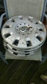 T5 vw hub caps