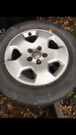 Audi alloy wheels fit vw golf mk4 skoda all 5x100