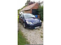 55 Plate Citroën C4 1.6 Diesel, MOT to May 2017