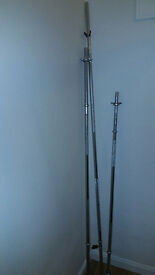 """Weight Bars - Standard 1"""" - 5 & 6 foot (Spin lock) and 7 foot (Spring Clip)"""