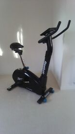REEBOK ZR10 ELECTRONIC EXERCISE BIKE - AS NEW CONDITION!