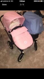 Bugaboo donkey duo 💗💙immaculate condition
