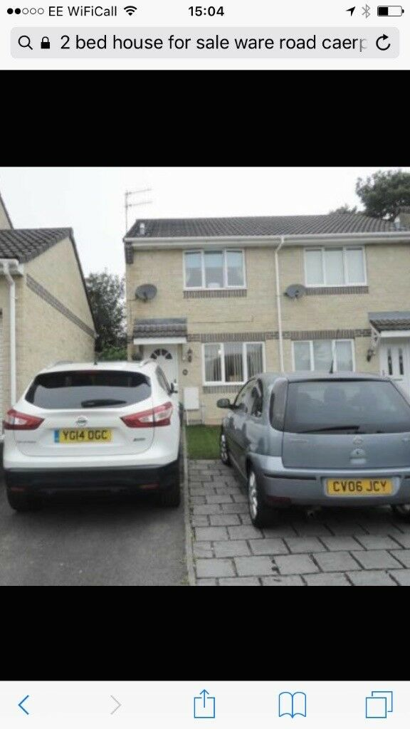 2 bed house to rent caerphilly
