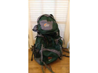 Lowe Alpine travel backpacksTFX Kibo 65like new
