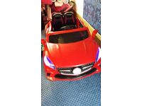 12V Battery Mercedes Style Electric Kids Ride On Car Parental Control MP3