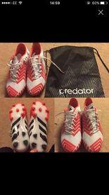 Predator football boots 10.5