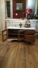SHABBY CHIC CABINET AS NEW