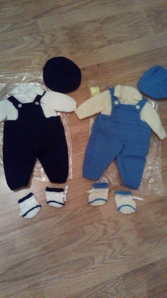 Dolls dungaree sets