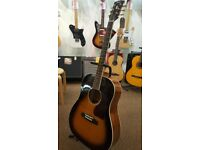 Tokai UJ47S Vintage Sunburst Acoustic Guitar - Ex Display