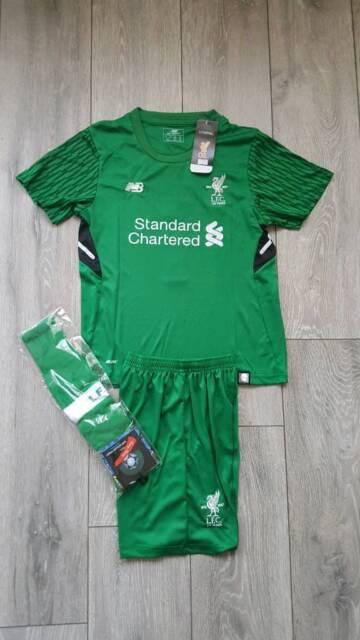 buy popular 30a68 6f543 2018 LIVERPOOL goalkeeper football kit 8-12 years kids | in Birkenhead,  Merseyside | Gumtree