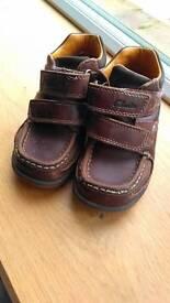 Boys clarks shoes 7 1/2 G - Sheringham