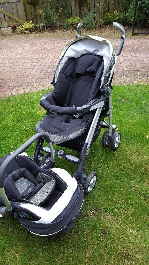 Silver Cross Multi Use Pushchair/Pram/Carrier. Good condition, with accessories