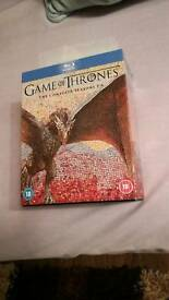 game of thrones complete season 1-6 blu ray BRAND NEW